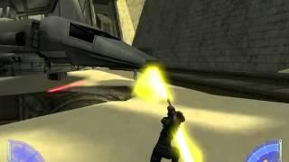 Star Wars Jedi Academy Gameplay