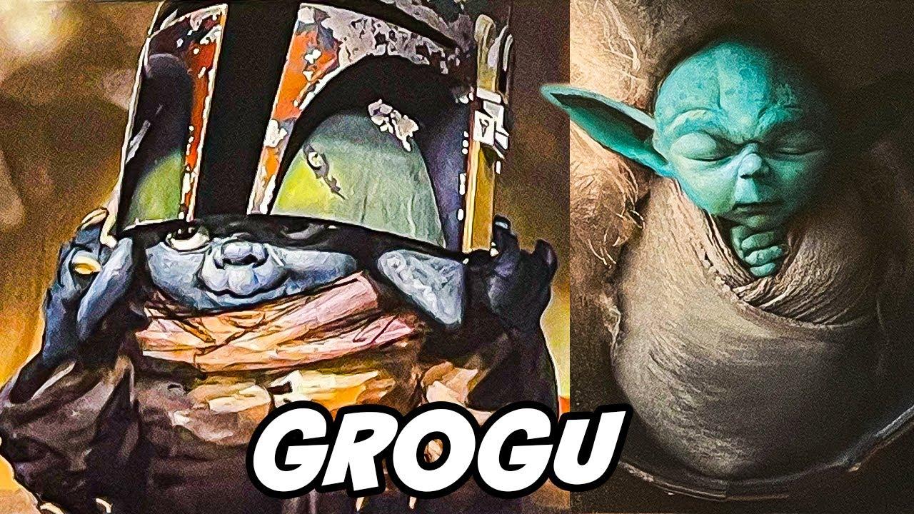 Grogu Is Wearing Boba Fett S Helmet In The Mandalorian Concept Art Youtube