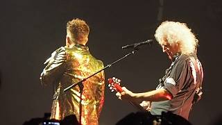"Queen & Adam Lambert ""Somebody to Love"" live @ Unipol Arena Bologna 10 November 2017"