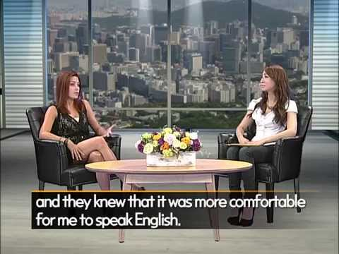 EBS TV Star English Interview with Sydney Langford - Day 1