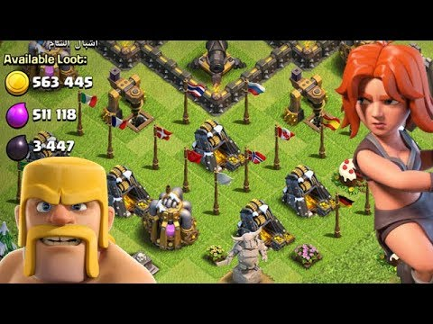 FLIGHT of the VALKYRIE TH9 Dark Elixir Time | Clash of Clans