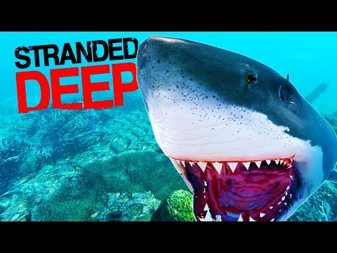 PREPARING TO BATTLE THE MEGALODON! SECOND MISSION ADDED - Stranded Deep 2017 Mission Gameplay Part 1