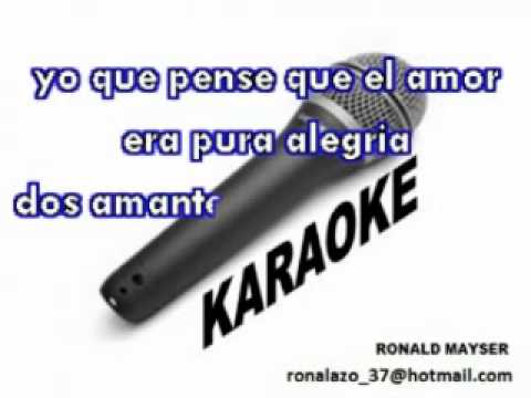 EL CHINITO   AREA 51   MERENGUE   KARAOKE
