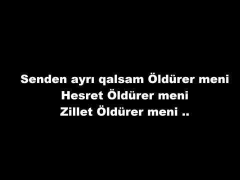 Elvin Mirzəzadə - Həsrət Öldürər Məni sözləri/lyrics