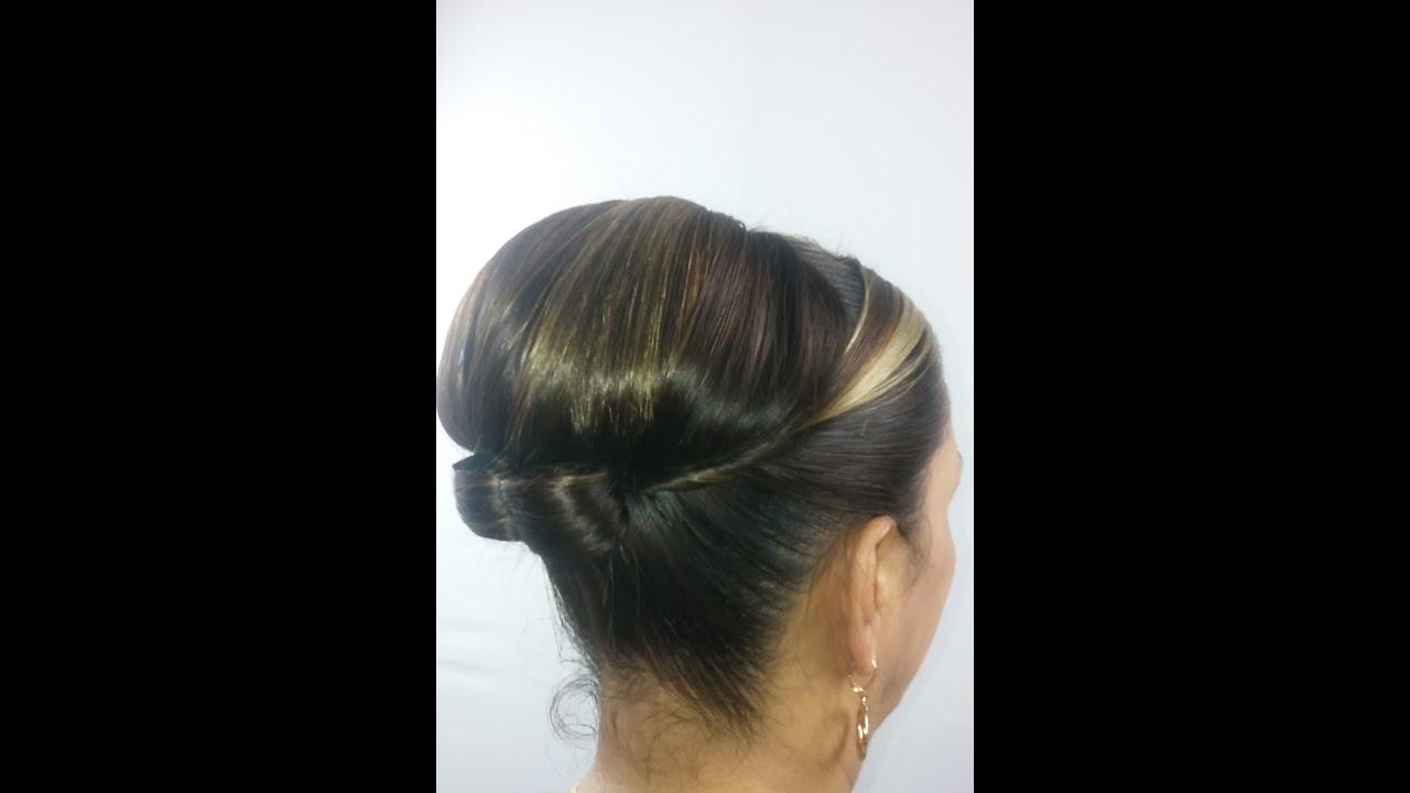 Peinados recogidos elegantes paso a paso - Peinados faciles y elegantes ...