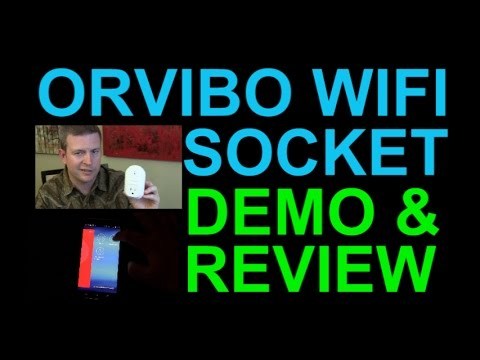 Orvibo WiFi Smart Socket Review And Demo - Affordable Home Automation From Android IPhone Tablet
