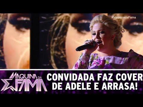 Convidade faz cover de Adele e arrasa! | Máquina da Fama (05/06/17)