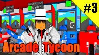 CUSTOMIZATION, AND RACE BIKES! - Arcade Tycoon Ep 3 - ROBLOX