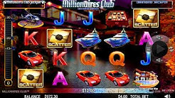 10 free spin bonus on Millionaires Club Diamond Edition slot wins today