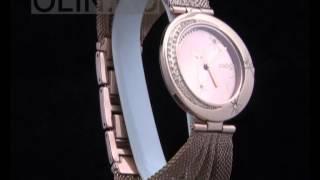 Женские часы с кошкой на циферблате