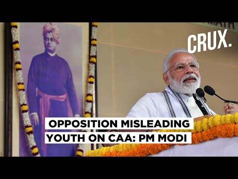 PM Modi Blames Opposition for Misleading Youth, Slams Pakistan On Treatment Of Minorities