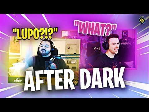 COURAGE'S FIRST AFTER DARK STREAM?! LUPO INVADES THE CALL?! (Fortnite: Battle Royale)