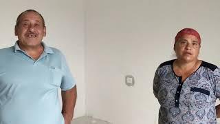 """Видео-отзыв клиента о подрядчике натяжных потолков """"Эстетик - дизайн"""". Отзыв семьи"""