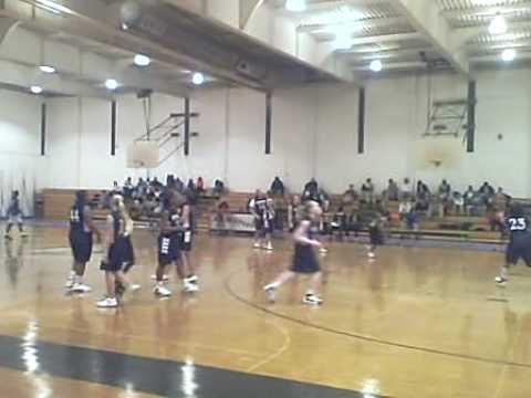 Chris Godlock at RS Middle School Basetball Team
