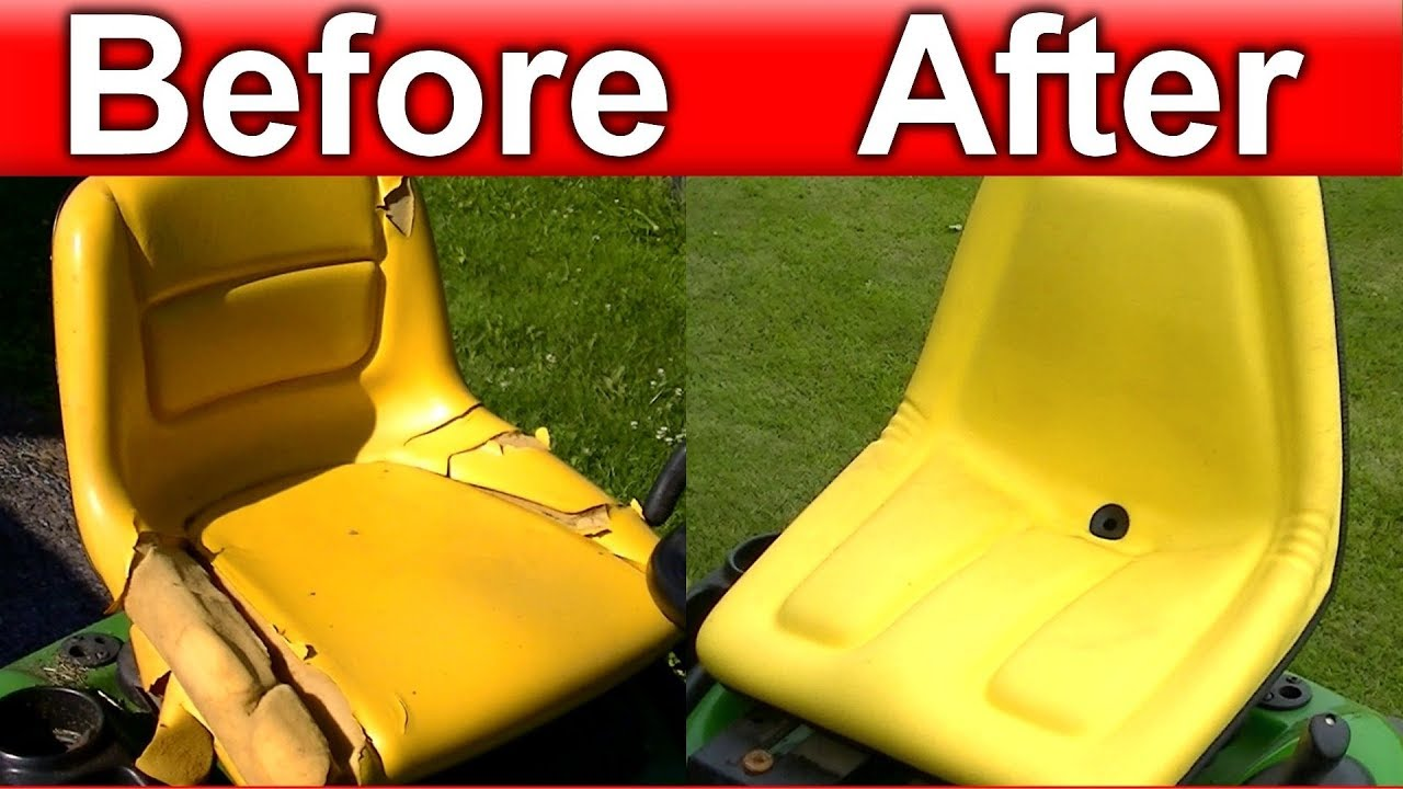 And Easy Universal Lawn Garden Tractor Seat Repair Replacement