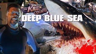 DEEP BLUE SEA - The Kill Counter (1999) Thomas Jane, Samuel L. Jackson Shark Horror Movie