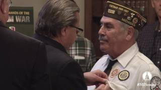 Sen. Kowall hosts Vietnam Lapel Pinning Ceremony