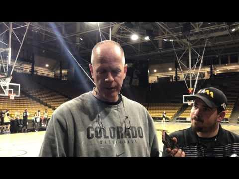 Tad Boyle 2/7 Post Practice Interview