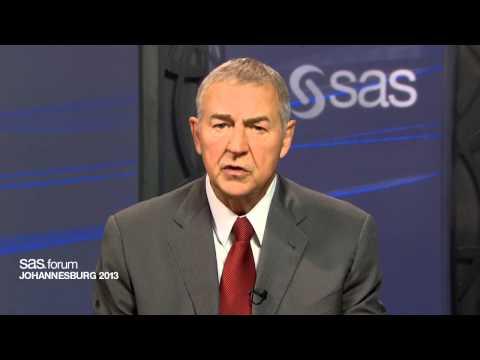 Jim Goodnight invites you to SAS forum Johannesburg 2013