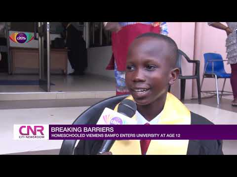 12-year-old Home-schooled Boy Gets Admission To University Of Ghana | Citi Newsroom