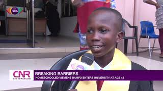 12-year-old home-schooled boy gets admission to University of Ghana  Citi Newsroom