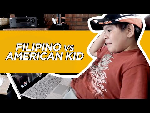 Filipino Vs American Kid