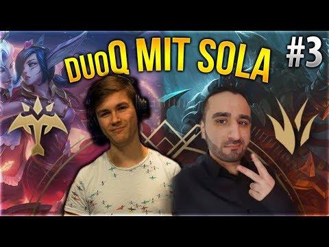 Sola x Silphi Duo Q! #3 [League of Legends] [Deutsch / German]