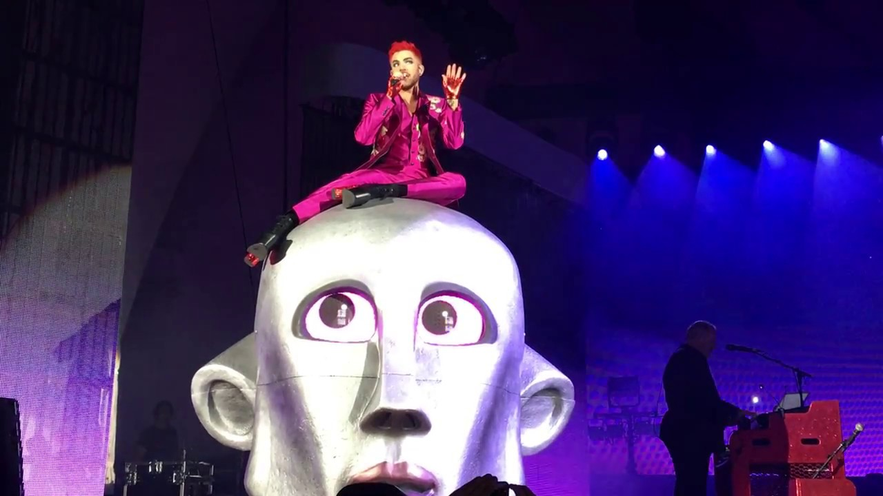 Queen Adam Lambert Killer Queen Live The Hollywood