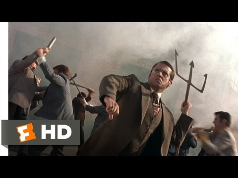 Anchorman: The Legend Of Ron Burgundy - The News Team Battle Scene (8/8) | Movieclips