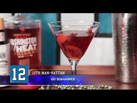 How to Make the 12th Man-Hattan | Super Bowl Recipes | Allrecipes.com