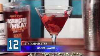 Super Bowl Recipes - How To Make The 12th Man-hattan