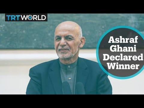 Ashraf Ghani secures