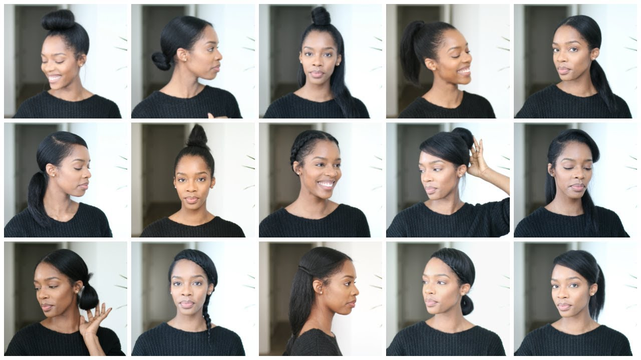 NOT ONE, NOT TWO, BUT 15 STYLES FOR STRAIGHT NATURAL HAIR