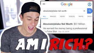 THIS IS HOW MUCH MONEY YOUTUBE PAYS ME FOR 1,000,000 VIEWS   Not Clickbait   AbsolutelyBlake
