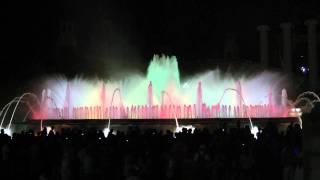 поющие фонтаны в Барселоне(, 2011-08-10T20:44:41.000Z)