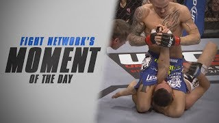 Dustin Poirier Submits Max Holloway at UFC 143 | Moment of the Day (Canada)