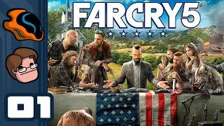 Let's Play Far Cry 5 [Co-Op] - PC Gameplay Part 1 - Sometimes It's Better To Just Walk Away...