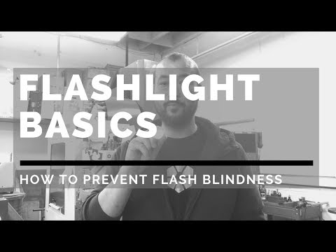 How To Prevent Flash Blindness