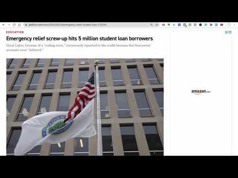 Great Lakes Messed Up Student Loan Credit Reporting  -- Do This NOW