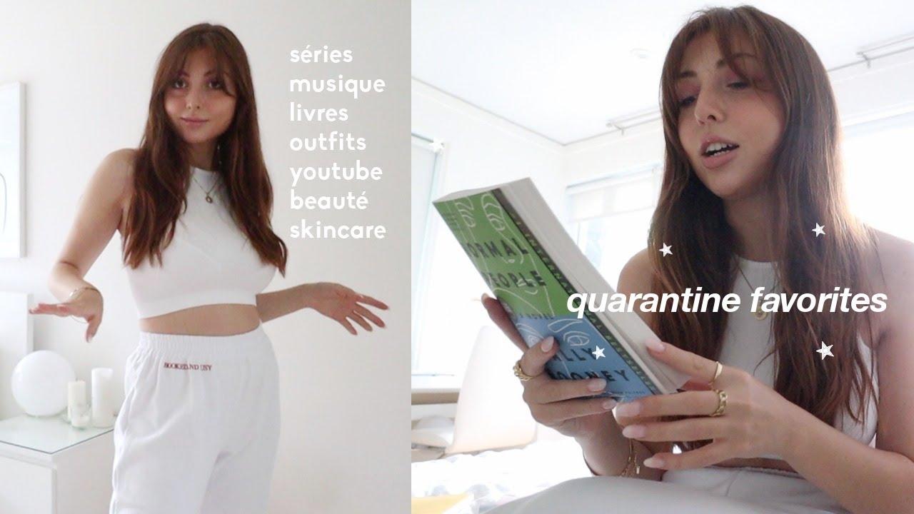 mes favoris de quarantaine ☕️ séries, livres, musique, mode, skincare
