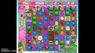 Candy Crush Level 1423 help w/audio tips, hints, tricks