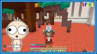 Nubi se convierte en Forky Toy Story - minecraft