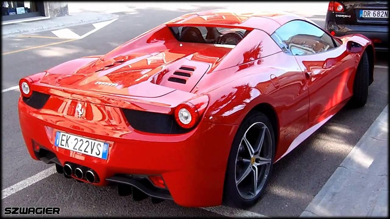 387 Italy Maranello Ferrari 458 Spider Hd Youtube
