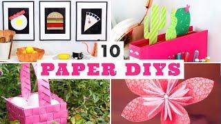 10 Easy DIYs made from Paper! - HGTV Handmade