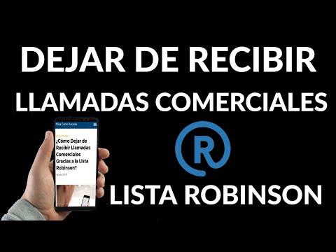 Como Dejar de Recibir Llamadas Comerciales Gracias a la Lista Robinson