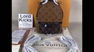 Louis Vuitton PALM SPRINGS MINI presbyopic backpack lv ... 77f695a585