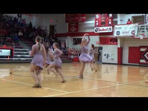 Concordia High School Dancers Perform At Halftime