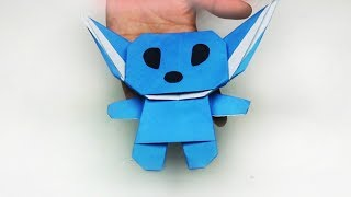 Origami Stitch | Paper Crafts Easy | Stitch Paper Craft | Popular Craft