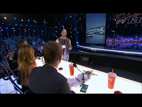 America's Got Talent 2017 Tom London Full Clip Judge Cuts S12E08