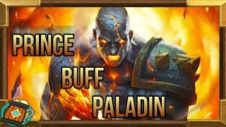 Hearthstone : Deck Tech Prince Buff Paladin Knight of The Frozen Throne